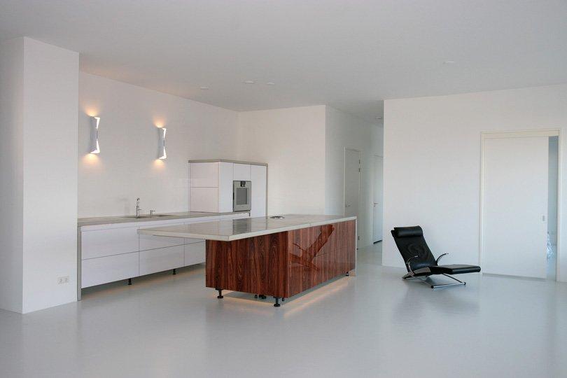 Laminaat Op De Badkamer ~ Keuken na het latex spuitwerk van wanden en ...